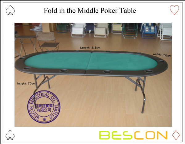 Fold in the Middle Poker Table-4