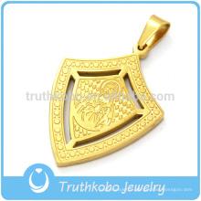 Fournisseur en acier inoxydable de bijoux d'escompte de médaille religieuse de notre seigneur Jésus-Christ de Chine