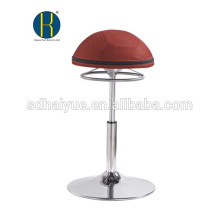 Горячий продавать круглый сиденье Красный сетка бар мебель на продажу с круглым основанием