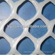 maille en plastique de contrôle de l'érosion
