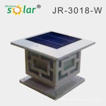 2014 Best seller gate post lights with led solar garden pillar lights