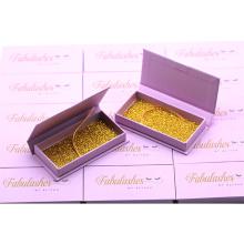B138 Hitomi private label eyelashes box your own brand eyelash luxury Empty Custom Eyelash Packaging