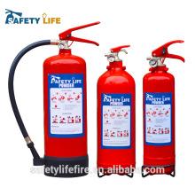 preço do poder do extintor de fogo do dcp / extintor de incêndio / 4.5kg extintor do fogo do abc com ul