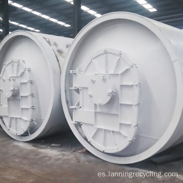 Lanning Waste Tire Recycling Machine