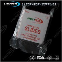 Diapositivas de microscopio transparente Henso 7105