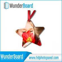 New Arrival Sublimation Printing on Metal Ornament