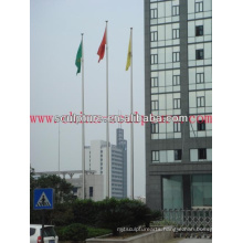 2016 New Modern Hotel Decoration Stainless Steel Flagpole