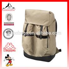 Мода кожаной отделкой холст рюкзак для открытый приключения (ЭС-Z329)