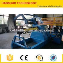 Máquina de corte simple de acero galvanizado acero color