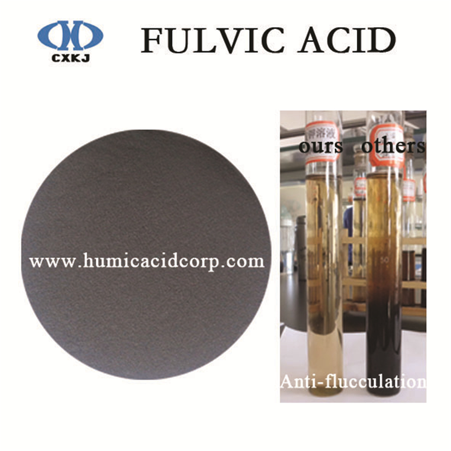Fulvic Acid Anti Flocculation