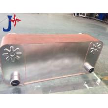 Intercambiador de calor de placas soldadas de venta caliente con material 316L