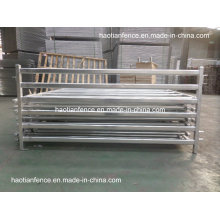 30X60mm Oval Rails Livestock Panels