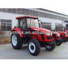 50hp 4x4 wheels driven tractor