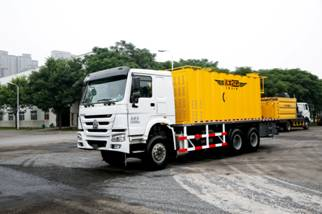 High-Tech Micro Surfacing Truck