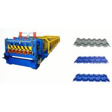 Sistema de control PLC Azulejo tejado rollo de techo que forma la máquina