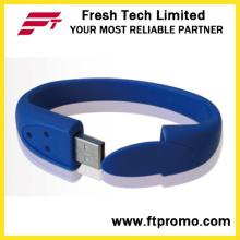 Pulseira de silicone unidade Flash USB (D191)