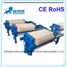 Filtre-presse hydraulique encastré pour l'usine de céramique