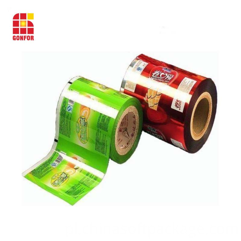 Moisture Proof Feature Sealable Printed Roll Film