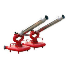 Movable fire foam monitor for fire fighting