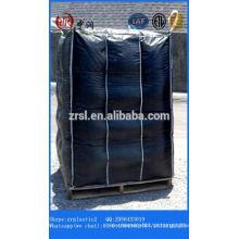 saco grande 1000 kg saco grande preço 1200 kg por tonelada de carvão saco de arroz de carvão para o material industrial