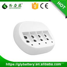 GLE-C855 Automatische 9v 6f22 Batterien Ladegerät für 1/4 Stück 6F22 (9V) Ni-Mh / Ni-CD-Batterie