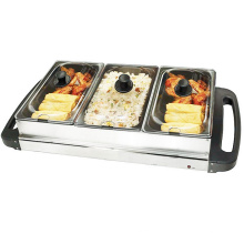 Electric Hot Pot Grill with 3 Pots