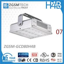 80W Lumileds 3030 LED Alta luz de la bahía con 0-10V
