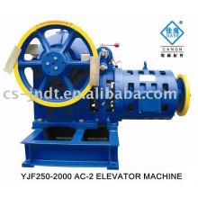 Elevador de AC-2 YJF250-2000 Motor engrenado máquina
