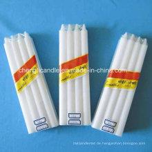 Massenreines Paraffin-Wachs-weiße Kerze
