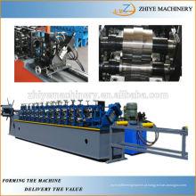 Omega metal perfil leve aço keel roll formando máquina Fabricante China