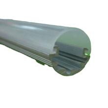 Logement d'extrusion de lumière de tube mené par T5 givré adapté aux besoins du client