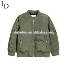 New design children clothes autumn baseball baby boy jacket