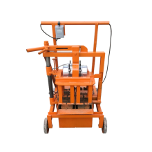 Construction building cement brick making machine