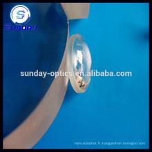 Lentille convexe en verre optique plano AR