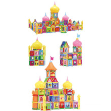 High class magnetic building block