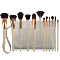 Collection de pinceaux de maquillage professionnel 12PC