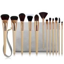Collection de pinceaux de maquillage professionnel 12PC