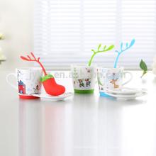 2015 neue Design Keramik Weihnachten Tassen
