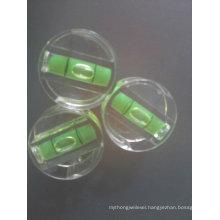 plastic block spirit level vial