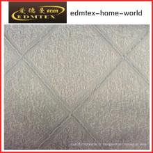 Tissu de rideau en organza brodé à la mode EDM2030