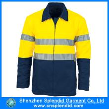 Kundenspezifische Hi Vis Workwear Uniform Günstige Wasserdichte Arbeitskleidung