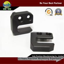 CNC, das kundenspezifische elektrische Teile mit Aluminium maschinell bearbeitet