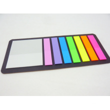 Fluorescent Color Film Pet Index Sticky Notes (9609)