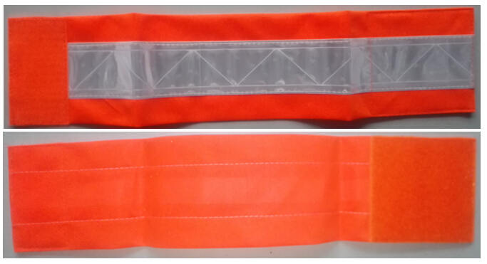 3M PVC Tape Armband Orange Color