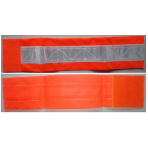 Orange color reflective 3M PVC tape armband