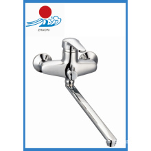 Wall-Mounted Kitchen Mixer Brass Water Faucet (ZR21903)