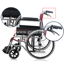 Portable Aluminum Foldable  Manual Wheel chair