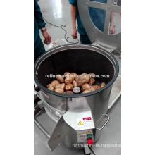 potato washing and peeling machine/vertical electric industrial potato peeling machine