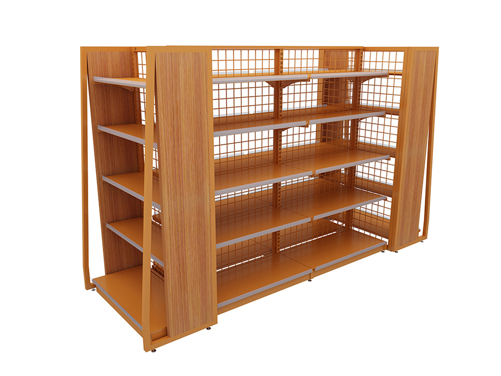 Steel Single-Sided Shelving Units