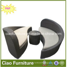 2016 Rattan Pation Furnitures Double Chaise Lounger (CF726L)